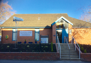 The front of Ecclesfield Library